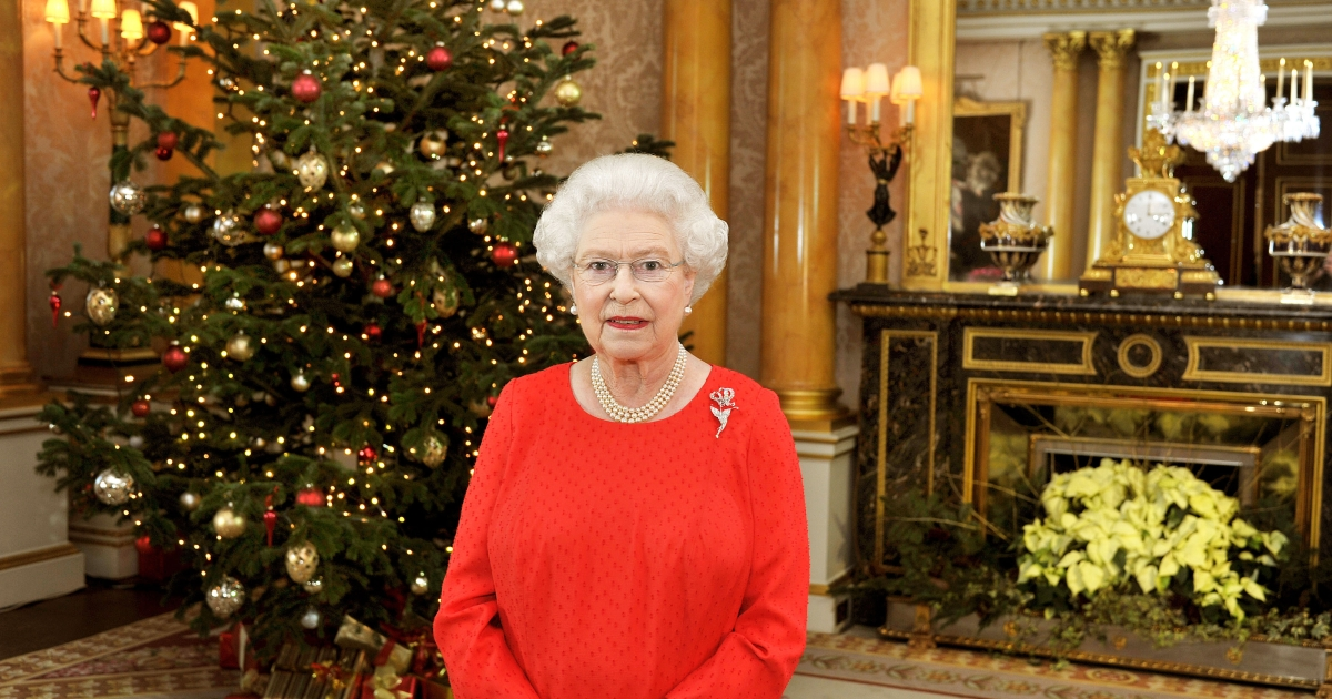 Home alone? Queen Elizabeth II will spend Christmas Day without her star royal grandkids, Kate and Wills, and Harry.</p>