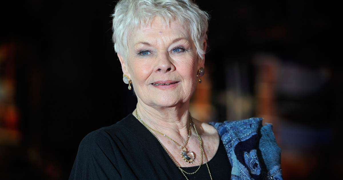 Dame Judi Dench attends the World Premiere of 'The Best Exotic Marigold Hotel' at The Curzon Mayfair on February 7, 2012 in London, England. (Photo by Gareth Cattermole/Getty Images)</p>