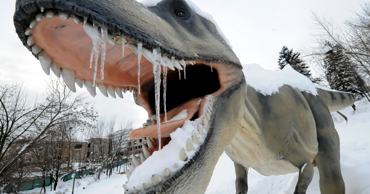 According to Ronald Breslow of Columbia University, the advanced dinosaurs would likely be dangerous creatures with the intelligence of humans.