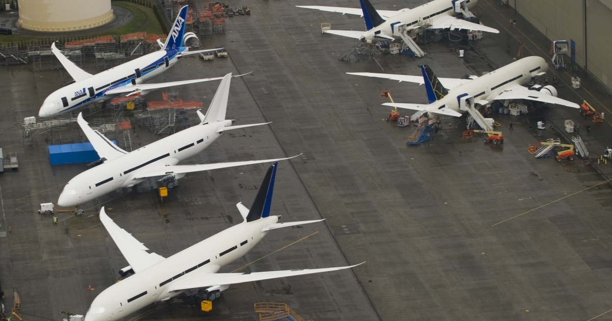 The WTO found Monday that airplane maker Boeing had received $5.3 billion in illegal subsidies over the last 25 years.</p>
