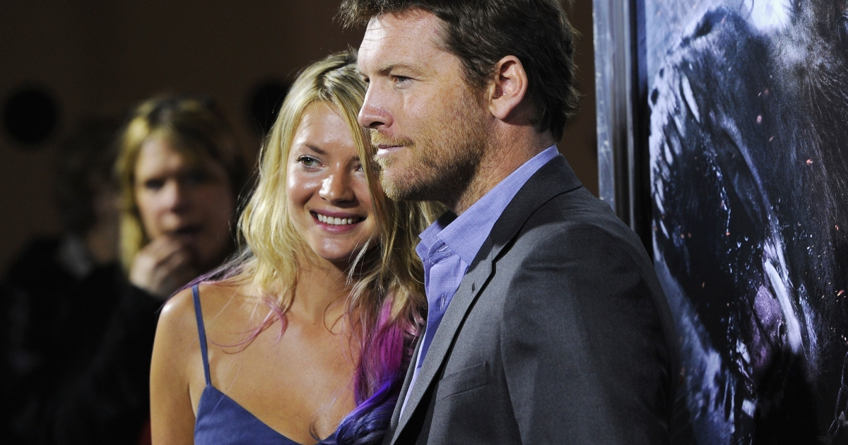 Crystal Humphries and actor Sam Worthington attend the 'Wrath of the Titans' premiere at the AMC Lincoln Square Theater on March 26, 2012 in New York City.</p>