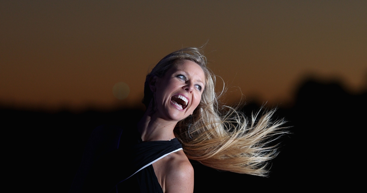 Charli Robinson arrives for the 'Battleship' Australian Premiere at Luna Park on April 10, 2012 in Sydney, Australia.</p>