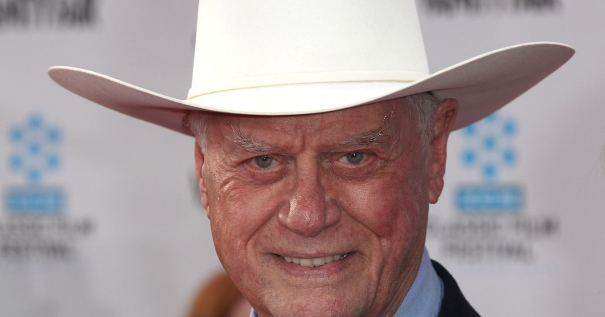 Actor Larry Hagman attends the 2012 TCM Classic Film Festival Opening Night Premiere Of The 40th Anniversary Restoration Of