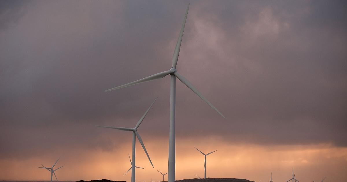 Wind generators are seen at the Pacific Hydro's Cape Bridgewater wind farm in Warrnambool, Australia, on May 4, 2012.</p>