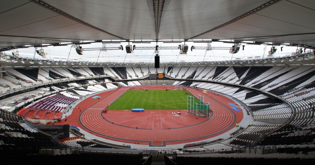 The flame will finish its journey in the Olympic Stadium in London on July 27, where it will burn throughout the Games.</p>