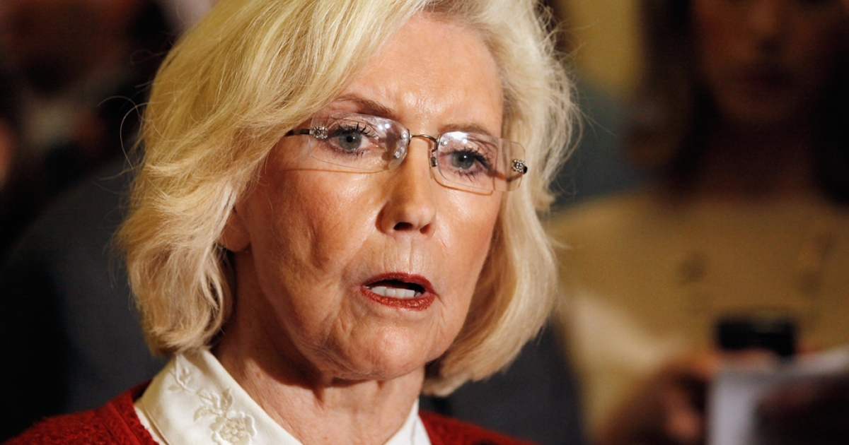 Lily Ledbetter speaks during a news conference at the U.S. Captiol June 5, 2012 in Washington, DC.</p>