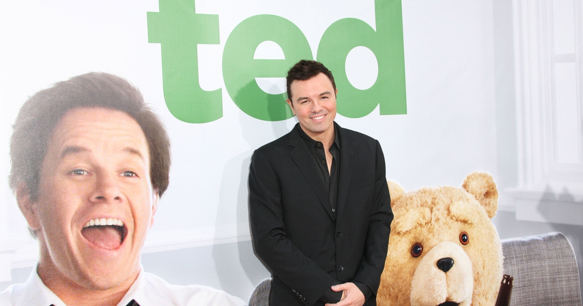 Seth MacFarlane attends the Premiere Of Universal Pictures'