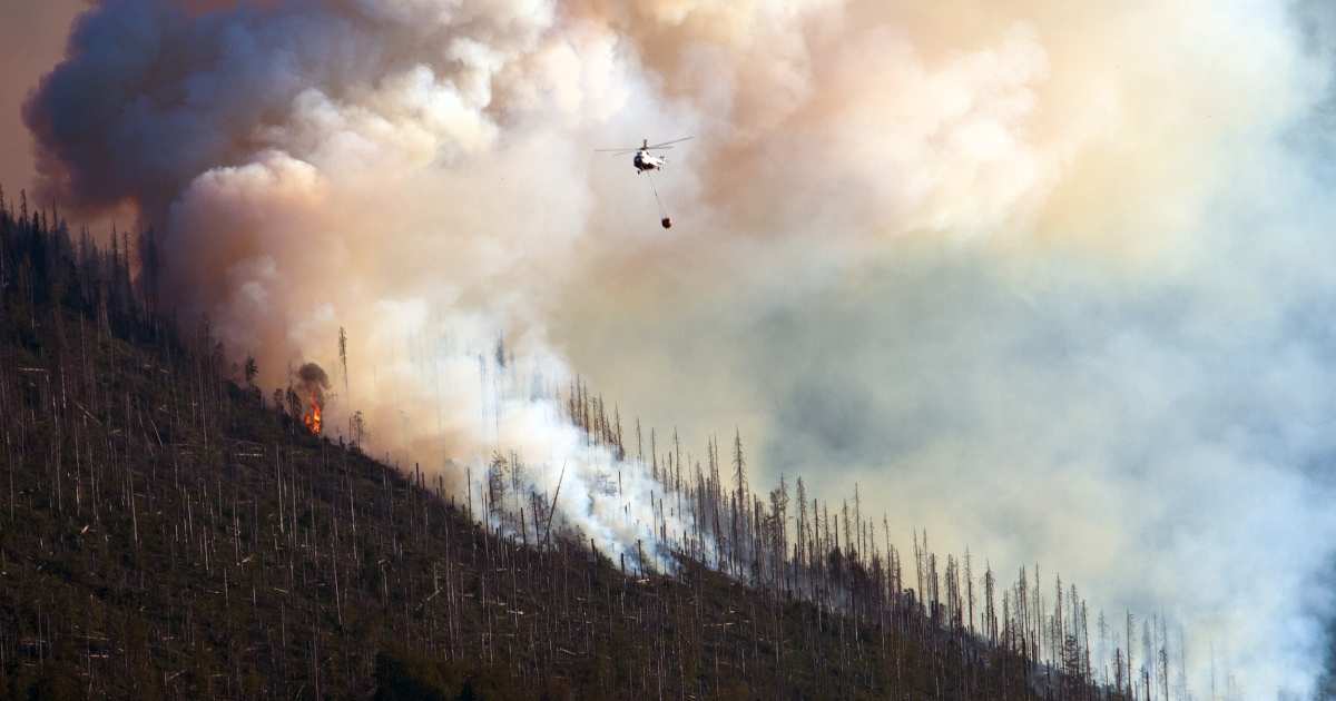 Gunfire from target ranges have been blamed for some US wildfires in the American West.</p>