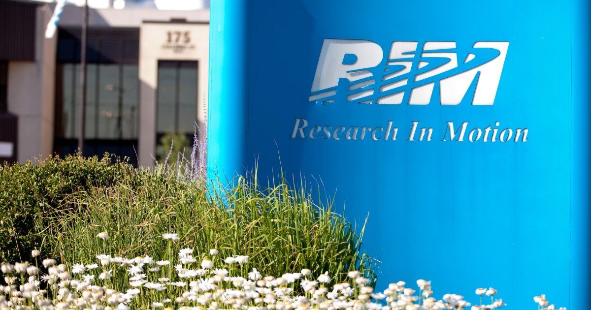 Research in Motion lost a $147 million lawsuit over a patent on Friday.</p>