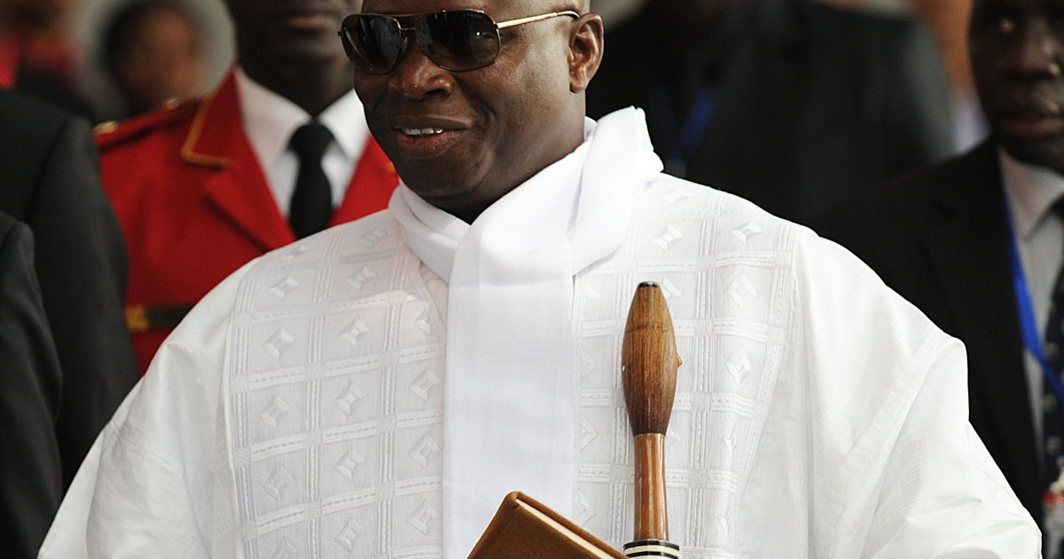 Gambia's President Yahya Jammeh declared a four-day work week for public service workers only on Monday.</p>