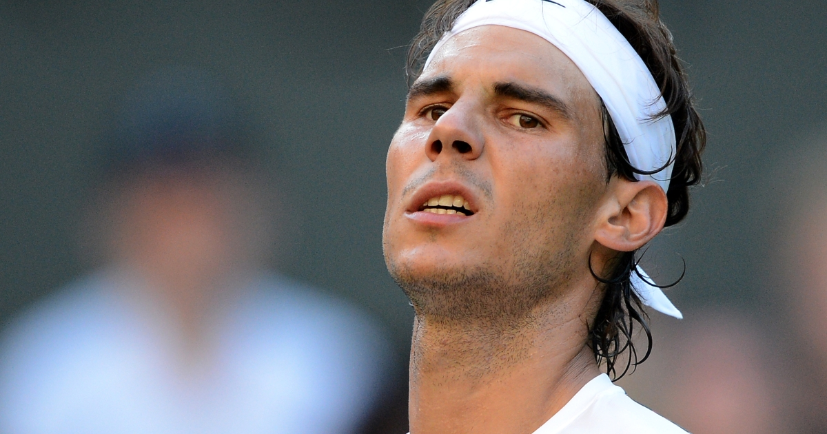 Rafeal Nadal announced Thursday that he is in