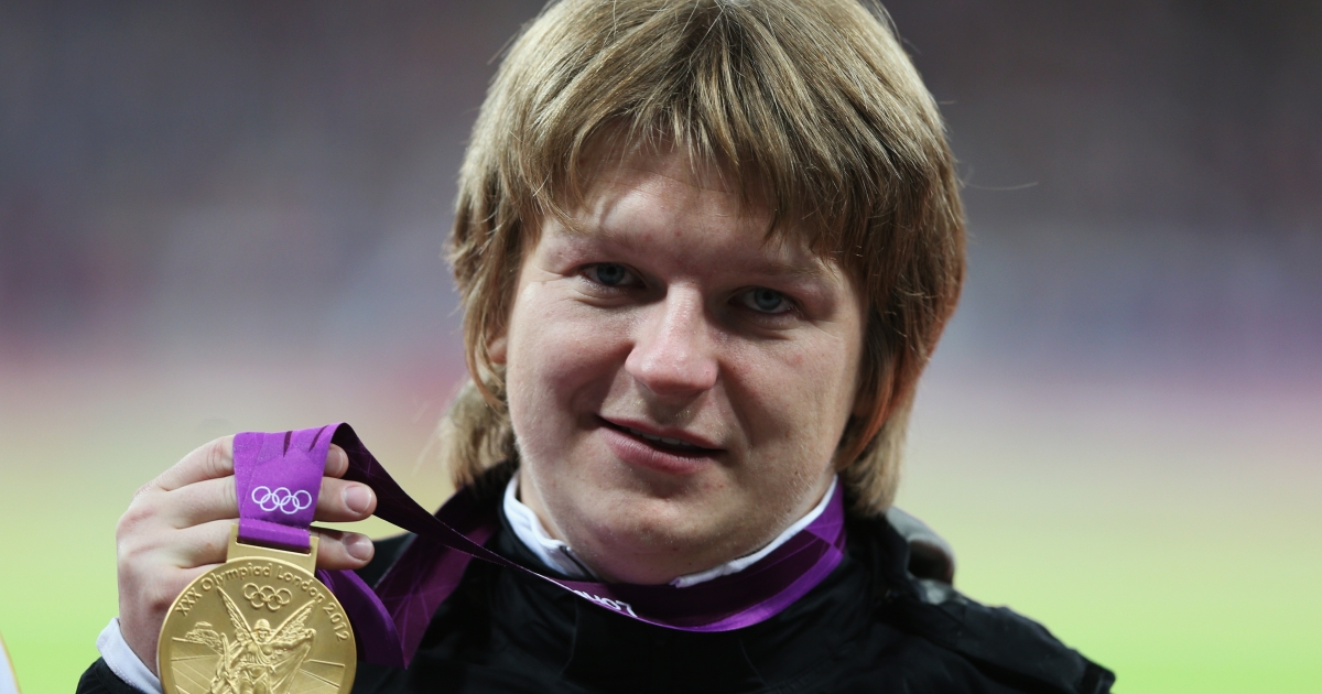 Nadzeya Ostapchuk was stripped of her medal after testing positive for drugs.</p>