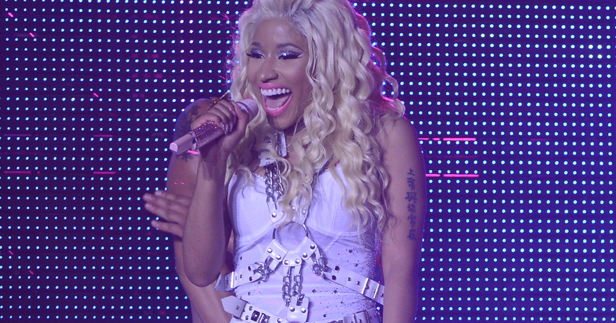 Nicki Minaj performs at Pepsi Presents Nicki Minaj's Pink Friday Tour at Roseland.</p>