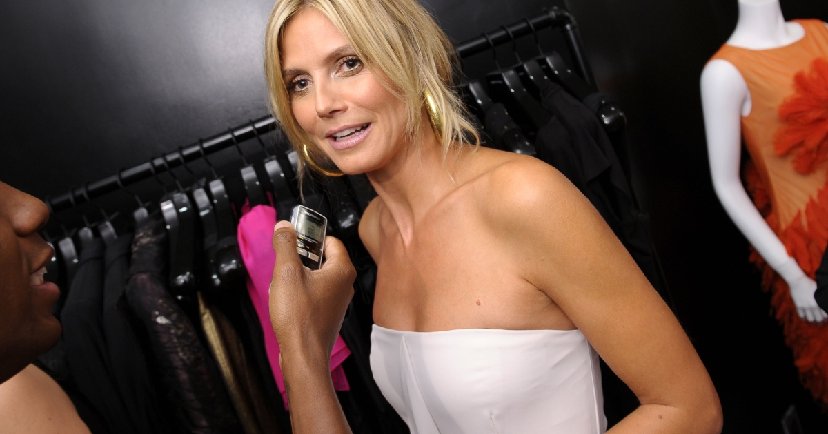 Heidi Klum attends Christian Siriano Nolita Boutique Opening on September 5, 2012 in New York City.</p>