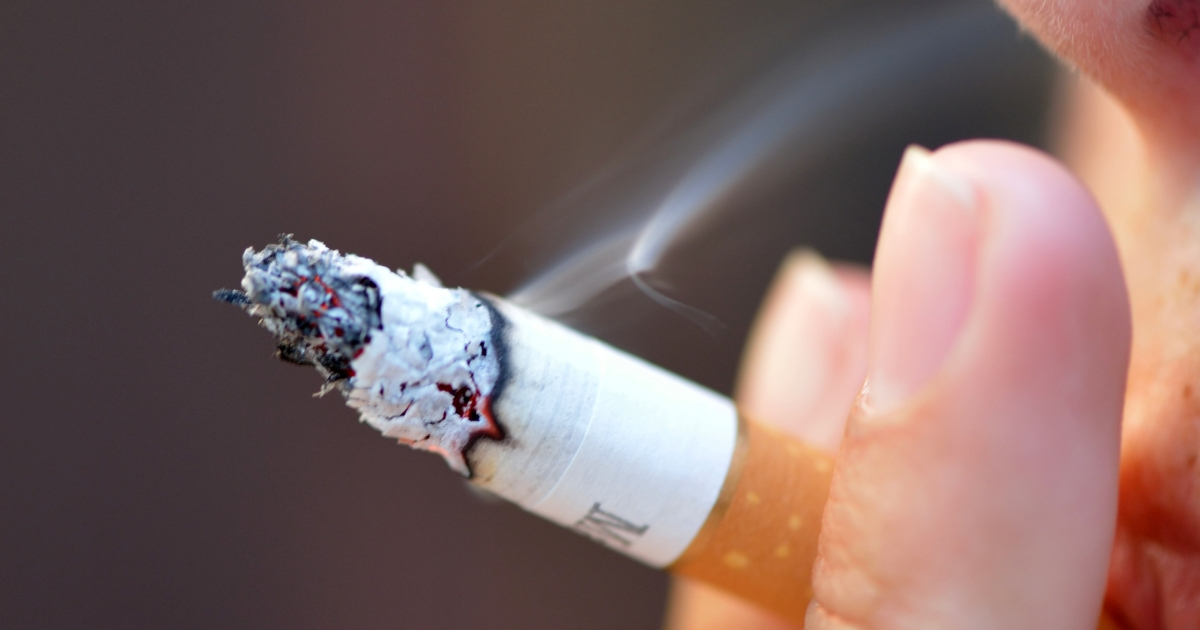 New UK research has shown that gory images on cigarette packs do little to deter teens who already smoke, though non-smokers and experimental smokers find them more off-putting.</p>