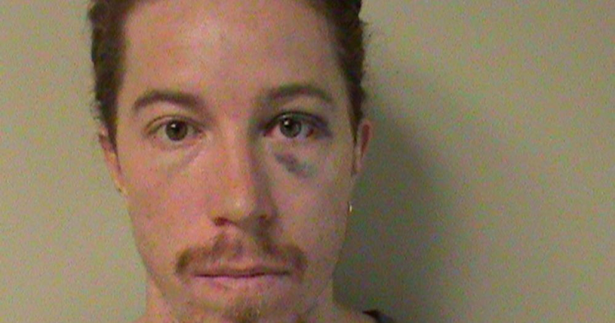 In this handout photo provided by the Nashville Metropolitan Police Department, Olympic gold medalist Shaun White, 26, is seen in a police booking photo September 17, 2012 in Nashville, Tennessee.</p>