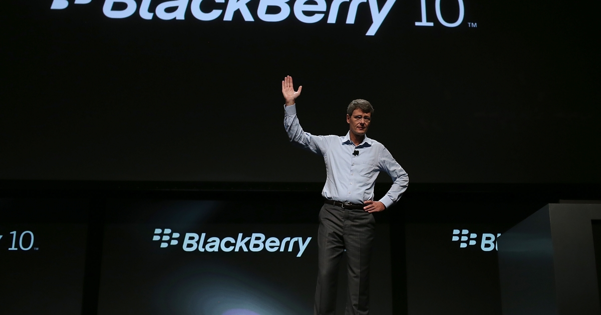 Shares in Research in Motion (RIM), the maker of the Blackberry, dropped precipitously on Friday, ahead of the Blackberry 10 device launch in January.</p>