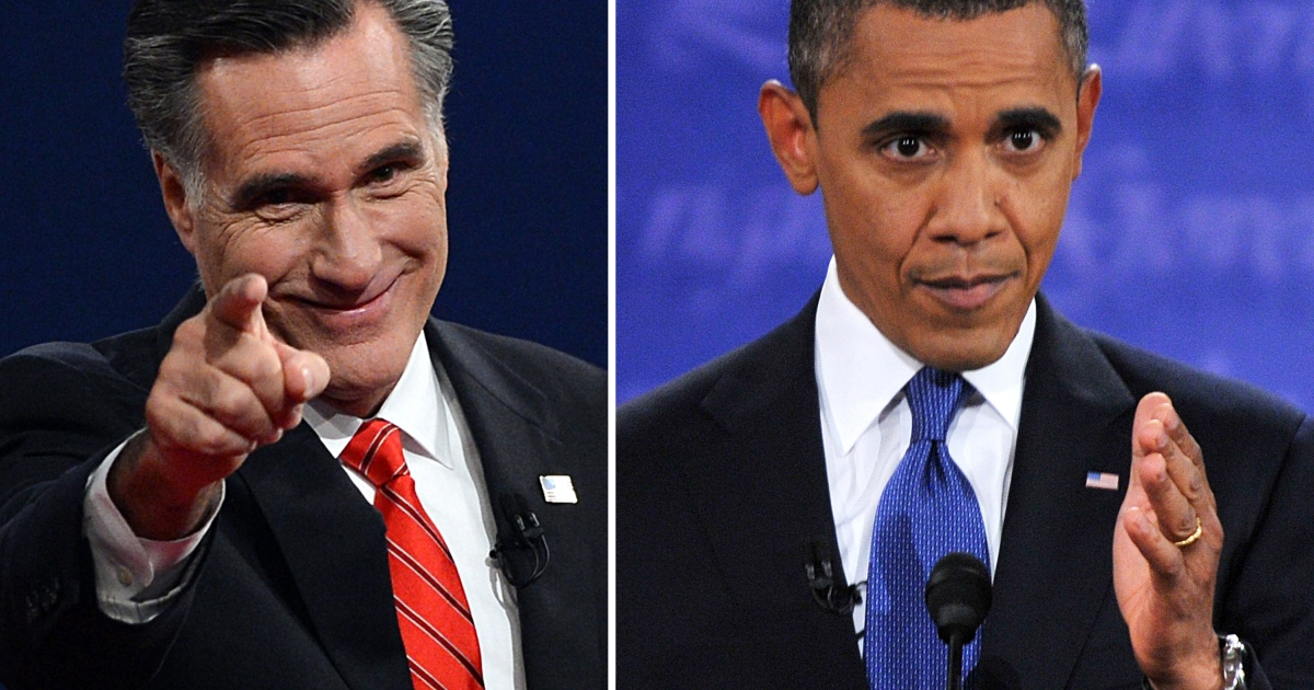 In the presidential debate, who came out on top?</p>