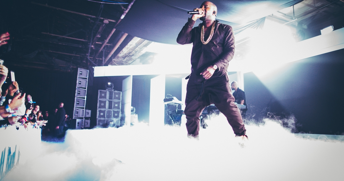 Kanye West treated fans at a recent concert with his views on the Grammys and the media.</p>