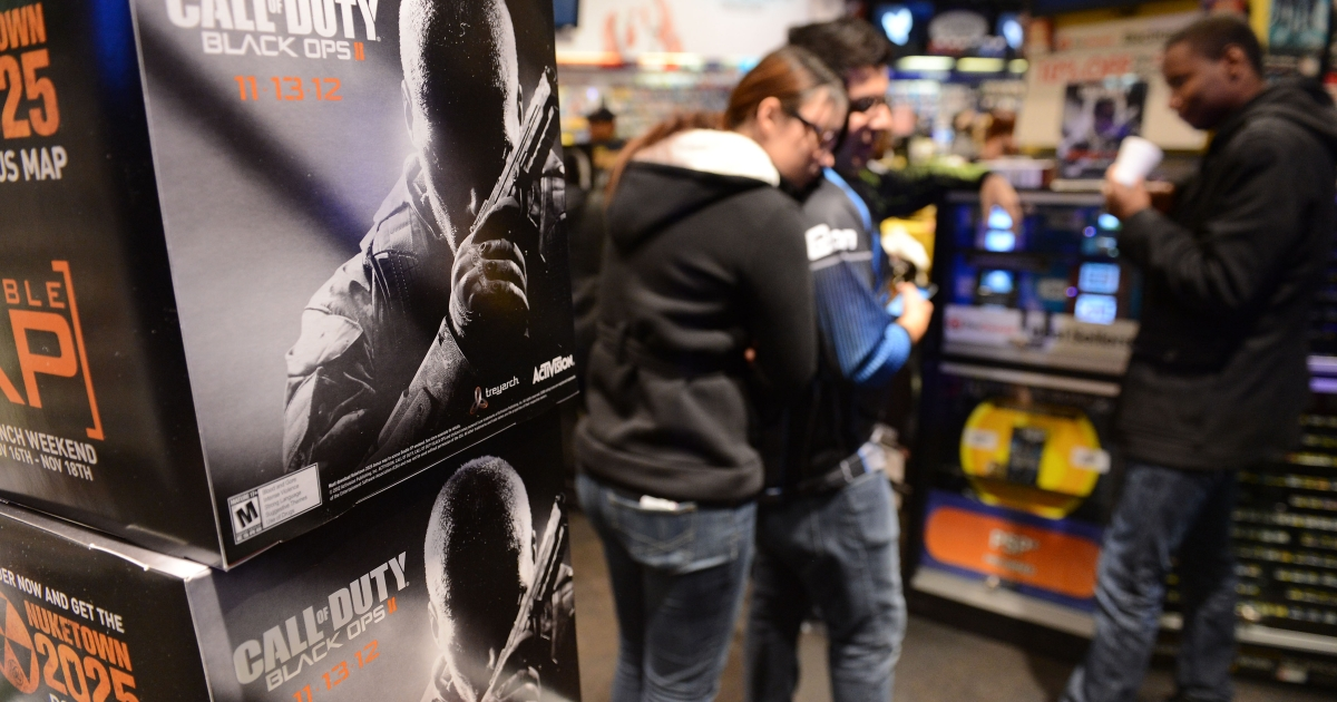Activision's Call of Duty: Black Ops II tops one billion dollars in sales, the quickest video game ever to reach that milestone.</p>