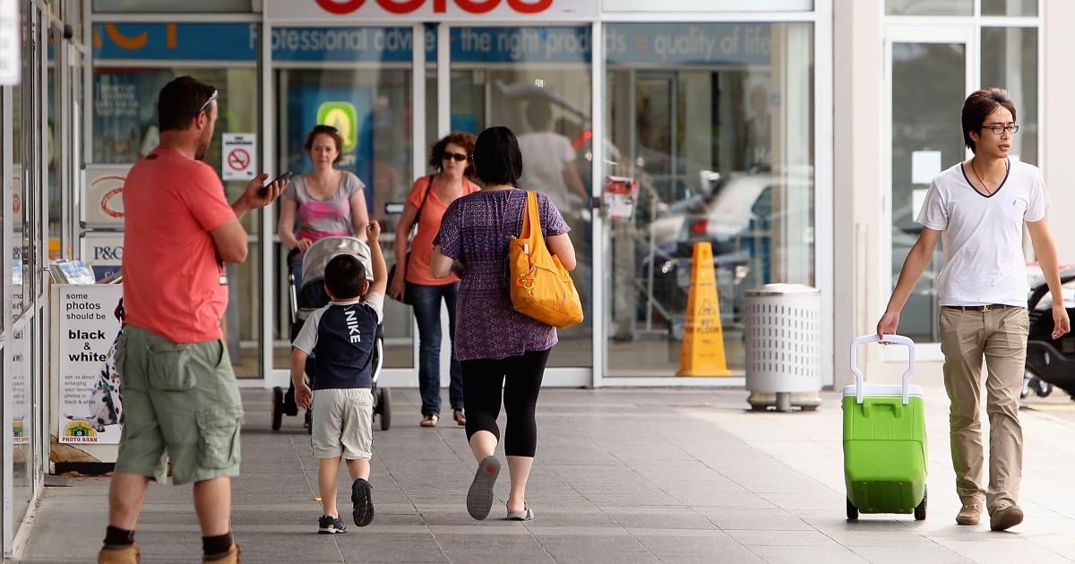 A shopping centre in Australia.</p>