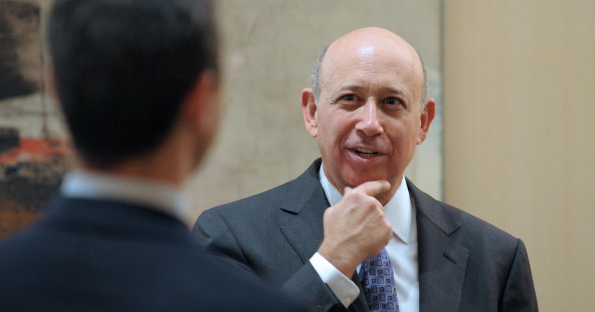 Goldman Sachs' Lloyd Blankfein's bonus reached $13 million in 2012.</p>