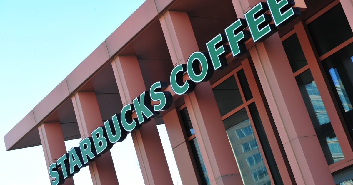 Starbucks' profits rose 13 percent last quarter on strong sales in Asia and the Americas.</p>