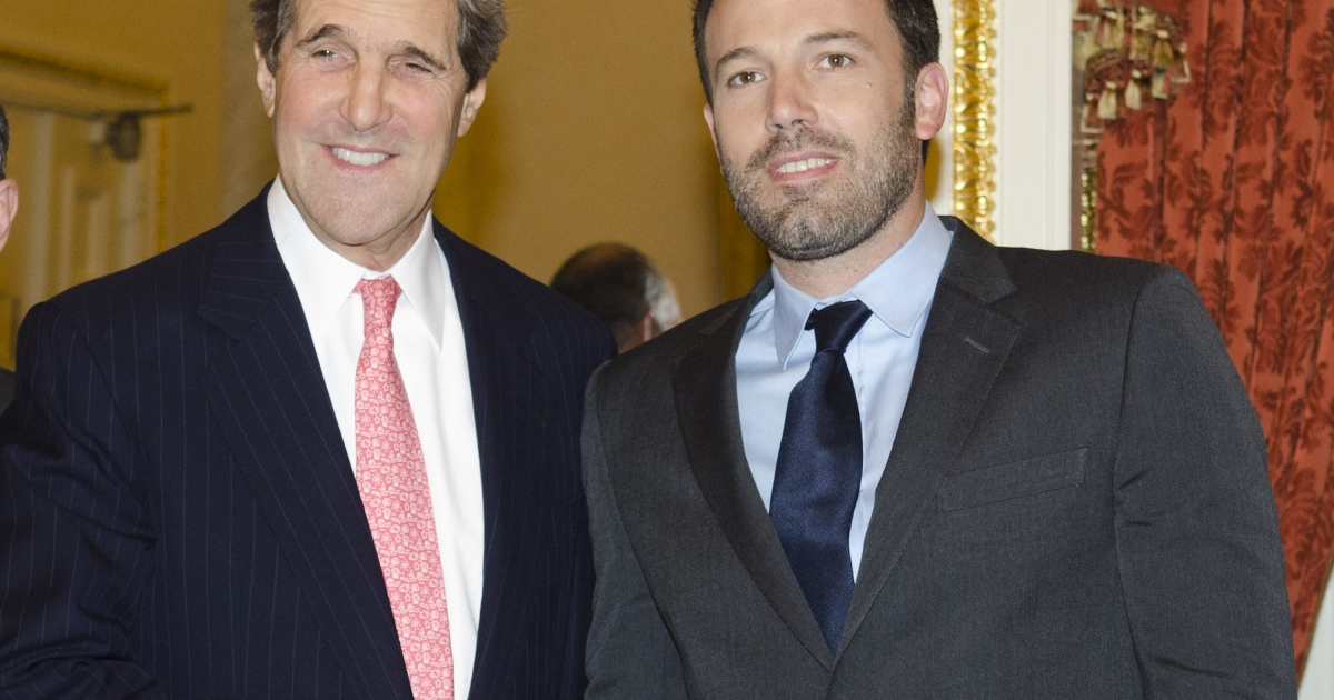 Ben Affleck announced Monday that he would not run for the US Senate seat soon to be vacated by John Kerry.</p>