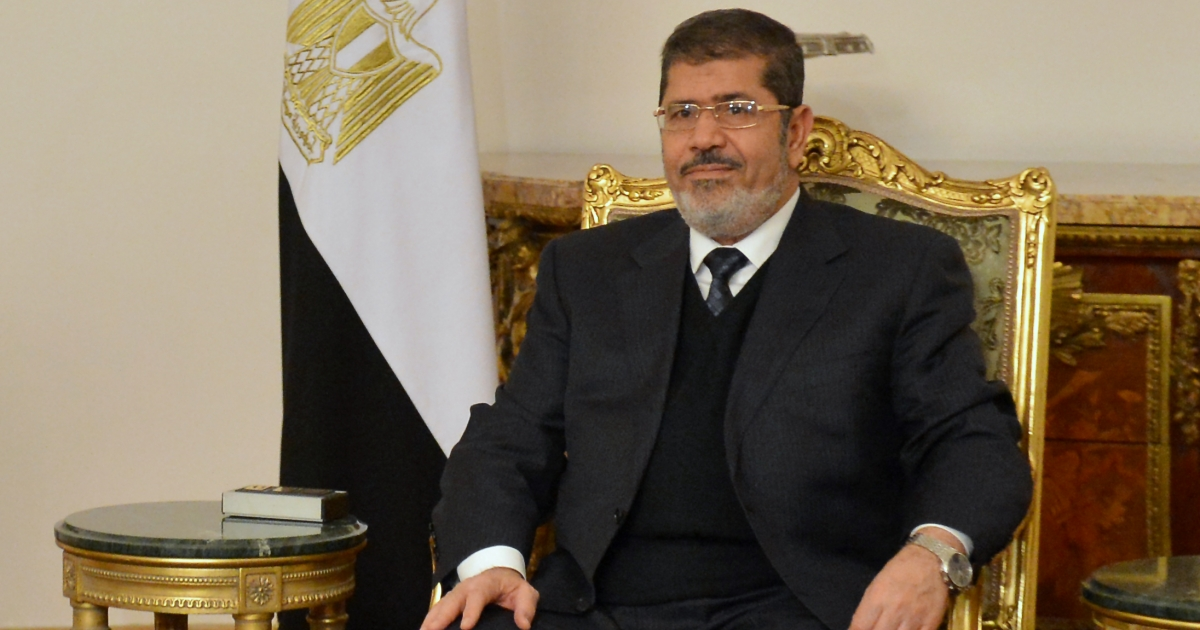 Anti-Semitic remarks made three years ago by Egypt's president Mohamed Morsi have surfaced provoking US government condemnation.</p>