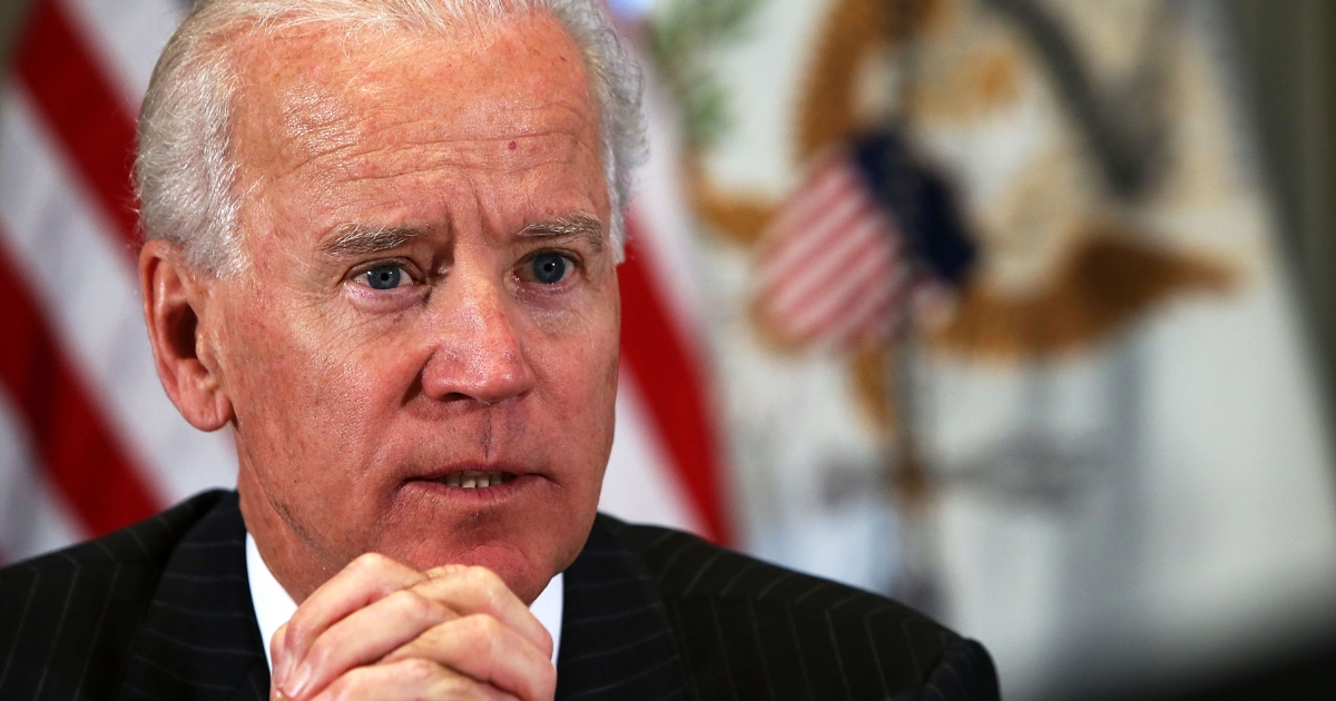 VIce President Joe Biden discussed the Obama administration's new gun control policies with guests live on Google Hangout Thursday.</p>