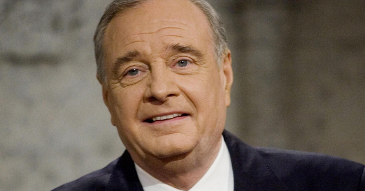 Prime Minister Paul Martin smiles at the podium prior to a televised debate in Montreal on January 9, 2006. Martin is a Polio survivor and is calling for a universal commitment to eradicate the disease.</p>