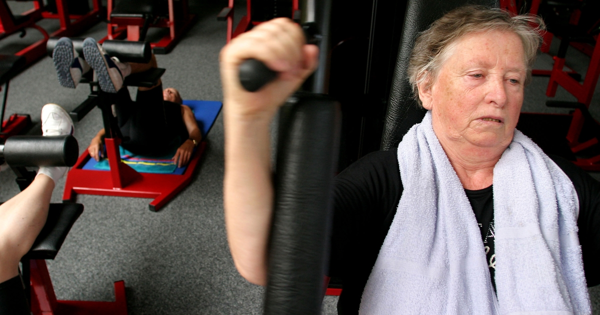 Strength training may halt the effects of dementia according to a new study.</p>