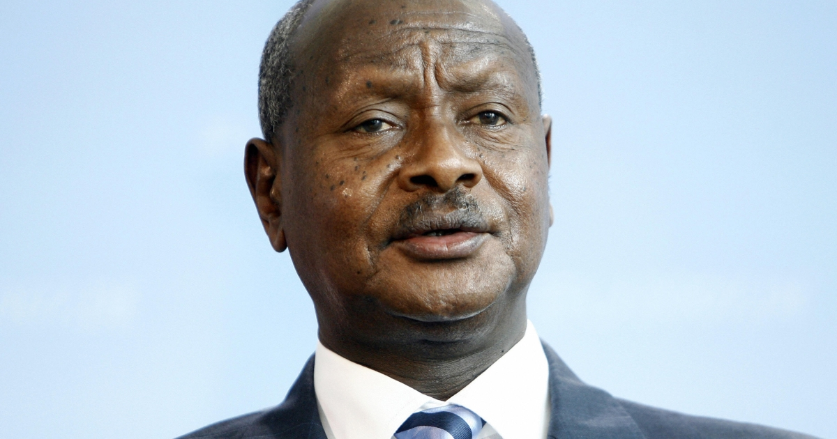 Ugandan President warns of a further spread of the deadly Ebola virus Monday.</p>