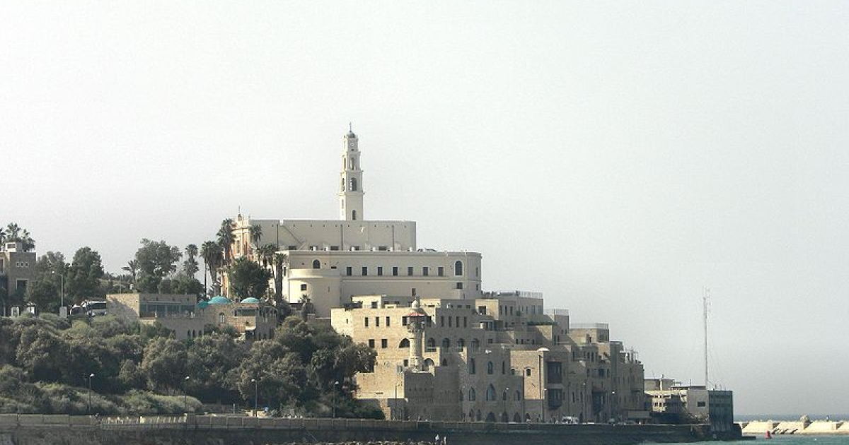 Jaffa, Israel, was the scene of a Christmas Eve attack where a man dressed as Santa Claus is alleged to have stabbed a religious leader there. (Wikimedia commons)</p>