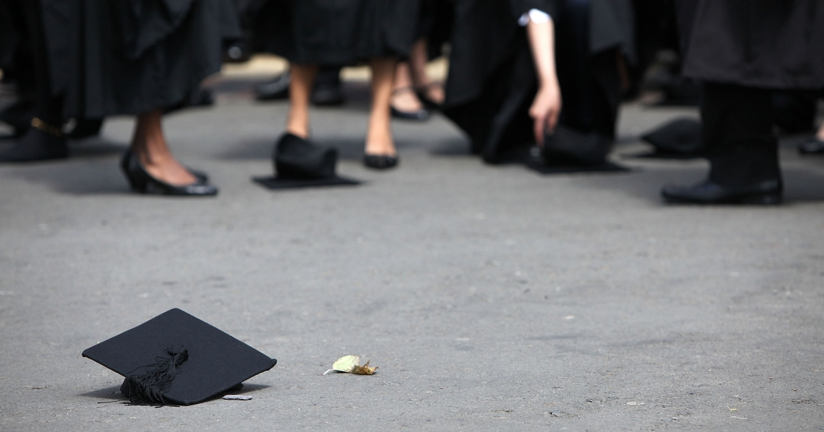 Michael Nicholson, 71, has received 29 college degrees and has no plans of slowing down.</p>