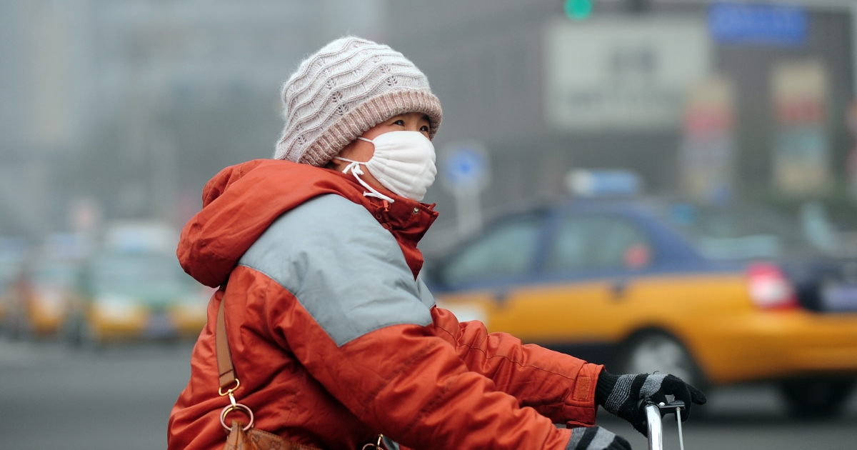 A study of Beijing before and after the Olympics links pollution to heart health.</p>