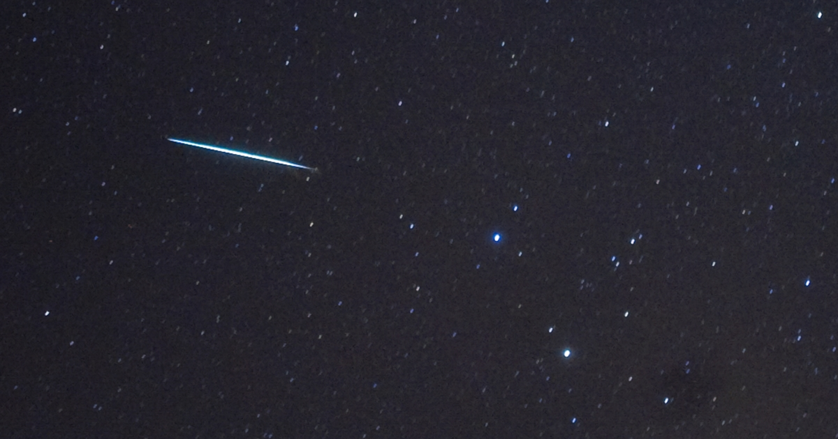 An Orionid meteor shower will light up the nightsky next weekend says NASA.</p>