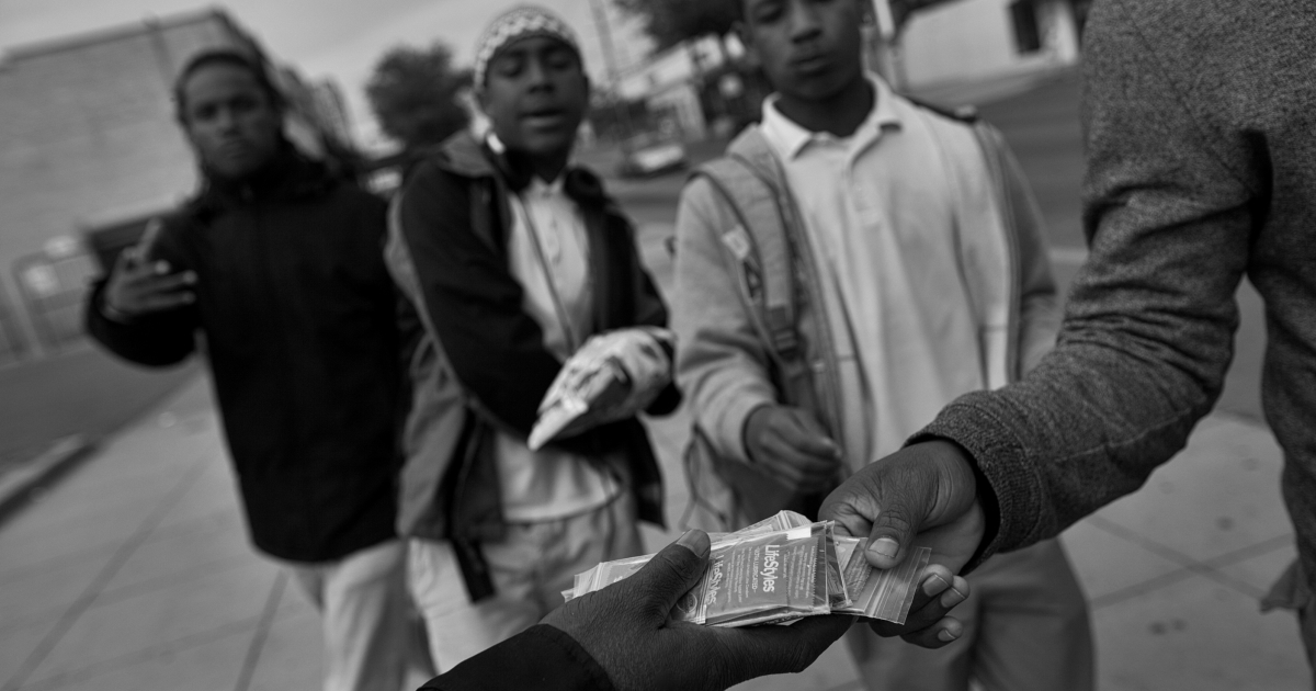 In its early days, a staff of five CHAMPS started out by distributing condoms in the neighborhood. Today, with 25 outreach workers and eight mobile testing units providing tests and referrals to clinics, it has become one of the most respected community-based organizations in the city.</p>