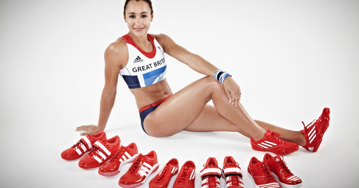 Athletes like Jessica Ennis sport Adidas wear, but the question is whether or not the people who are working in Cambodian factories are being treated fairly.</p>