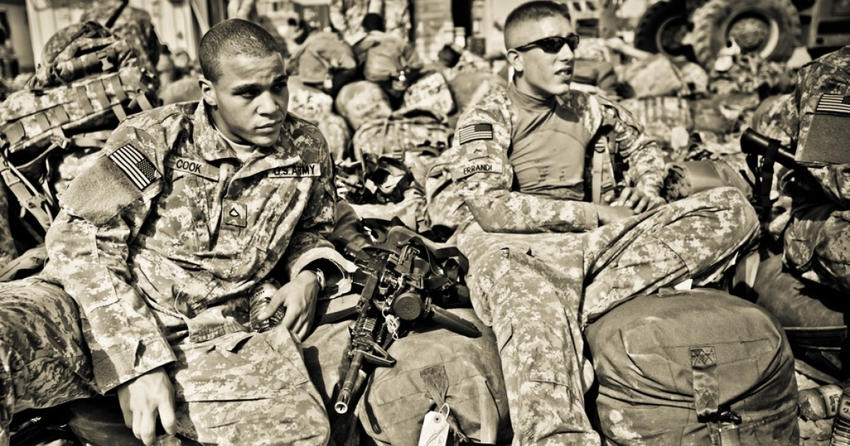 Army privates on their first deployment last summer.</p>