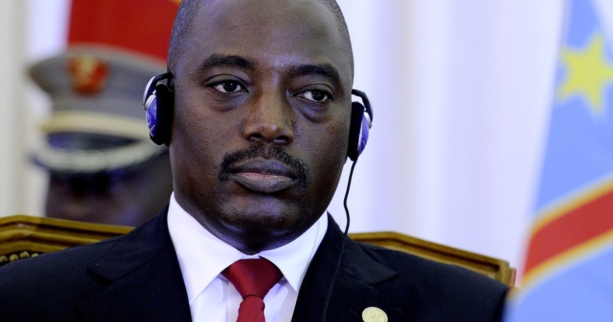 President of the Democratic Republic of Congo Joseph Kabila at the opening ceremony of the 31st Southern African Development Community (SADC) summit on August 17, 2011 in Luanda, Angola.</p>
