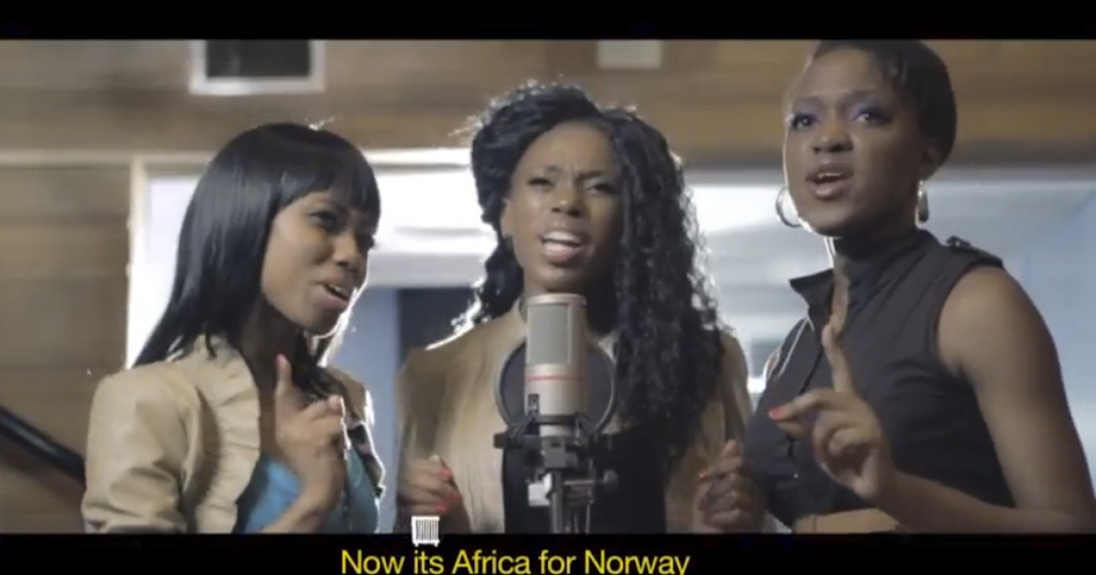 Africans, unite to save Norwegians from dying of frostbite!</p>