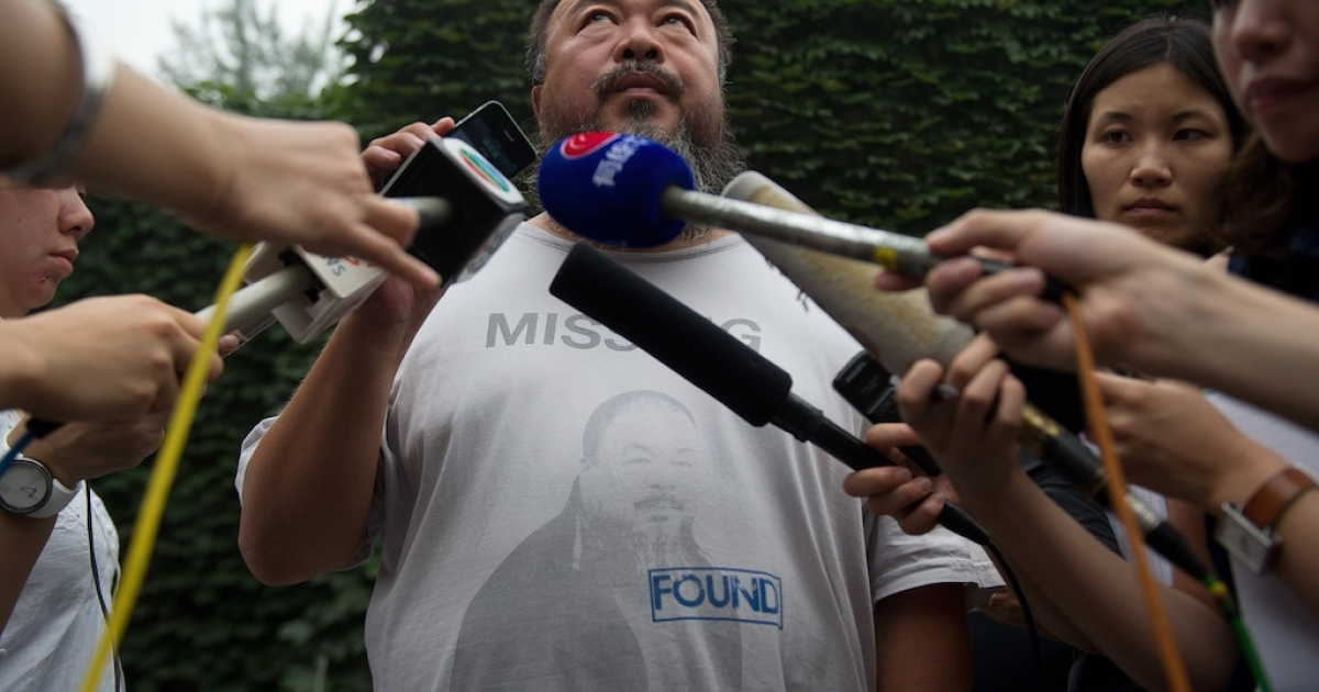 Chinese dissident artist Ai Weiwei is a constant thorn in the side of Beijing.</p>