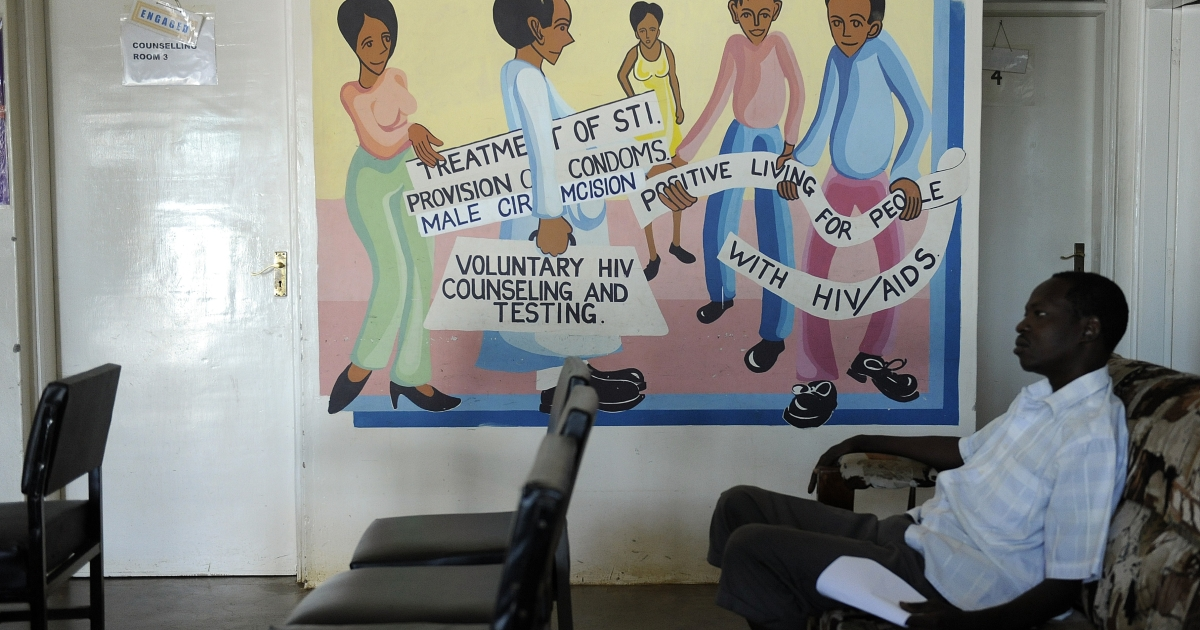The 2011 International AIDS Conference brought up ways of preventing the spread of AIDS infection.  Some of the ways Africans can prevent the spread are displayed in this mural in Kenya.</p>
