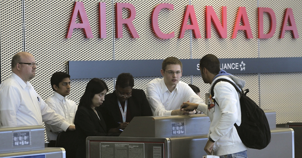 Air Canada customer service agents have gone on strike after 11th-hour talks failed to reach a new labor agreement. Air Canada has vowed to continue operating a full schedule, but travel agents have warned to expect long delays at airports.</p>