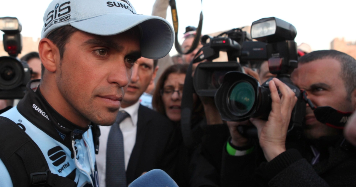 Alberto Contador will miss both this year's Tour de France and the London 2012 Olympic Games as a result of today's ruling.</p>