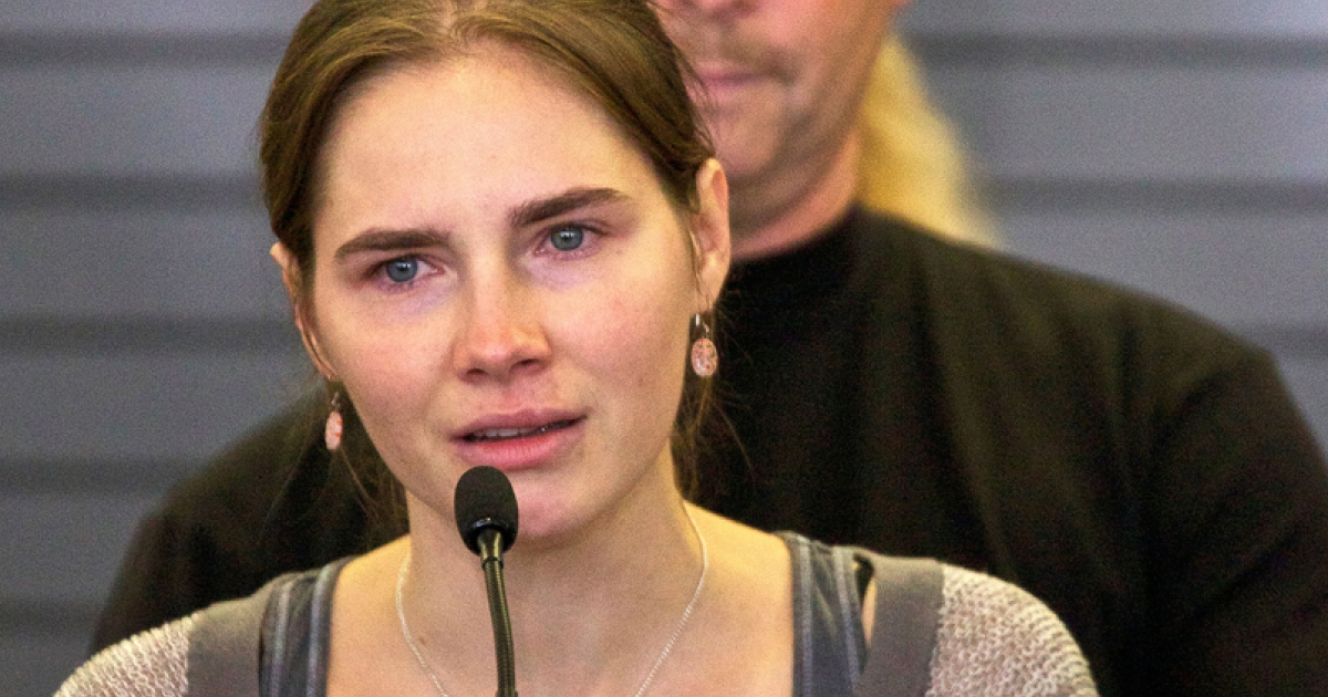 Amanda Knox, the American student who was convicted of murdering her British roommate in Perugia and then released, is seeking to appeal a slander conviction brought against her in Italy.</p>