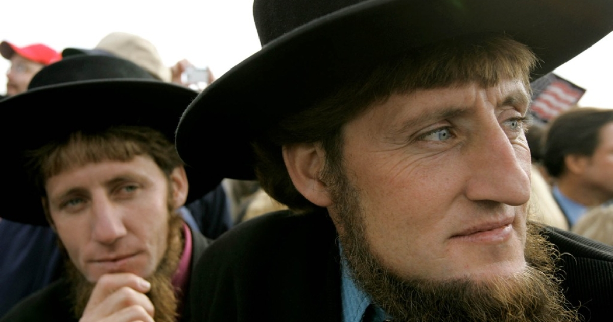 Amish teachings include strict rules on their followers' hair and beards.</p>