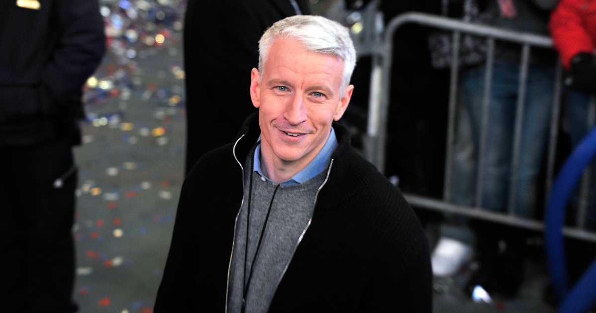 TV journalist Anderson Cooper attends New Year's Eve 2011 with Carson Daly at Times Square on Dec. 31, 2010 in New York City.</p>