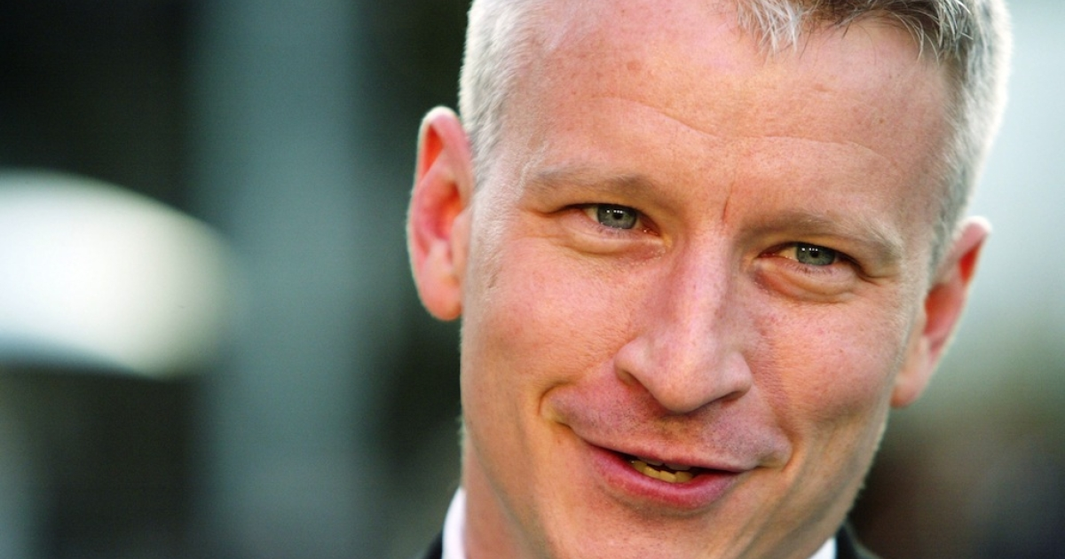 CNN correspondent and host of AC360, Anderson Cooper.</p>